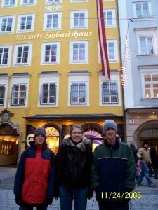 Mozart's Birthplace - Salzburg